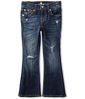 7 For All Mankind Kids - Girls' Kaylie Slim Fit Bootcut in California Del Sol (Little Kids)