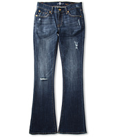 7 For All Mankind Kids - Girls' Kaylie Slim Fit Bootcut in California Del Sol (Big Kids)