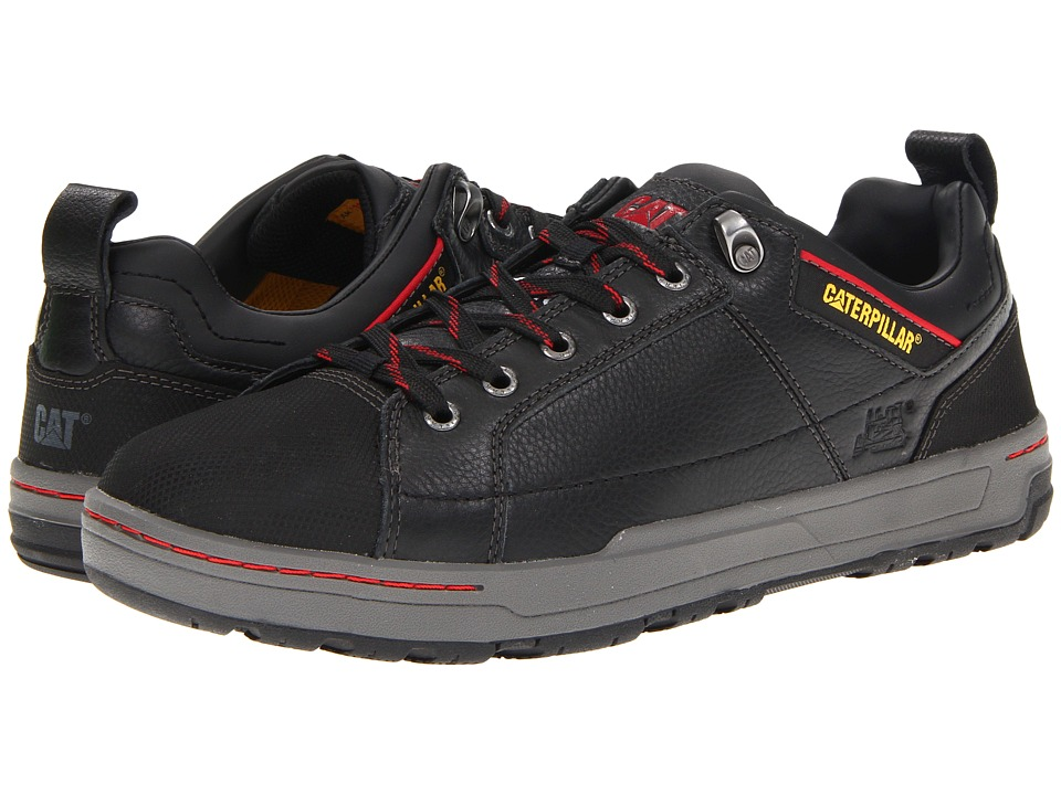 Caterpillar Brode Steel Toe Black Mens Industrial Shoes