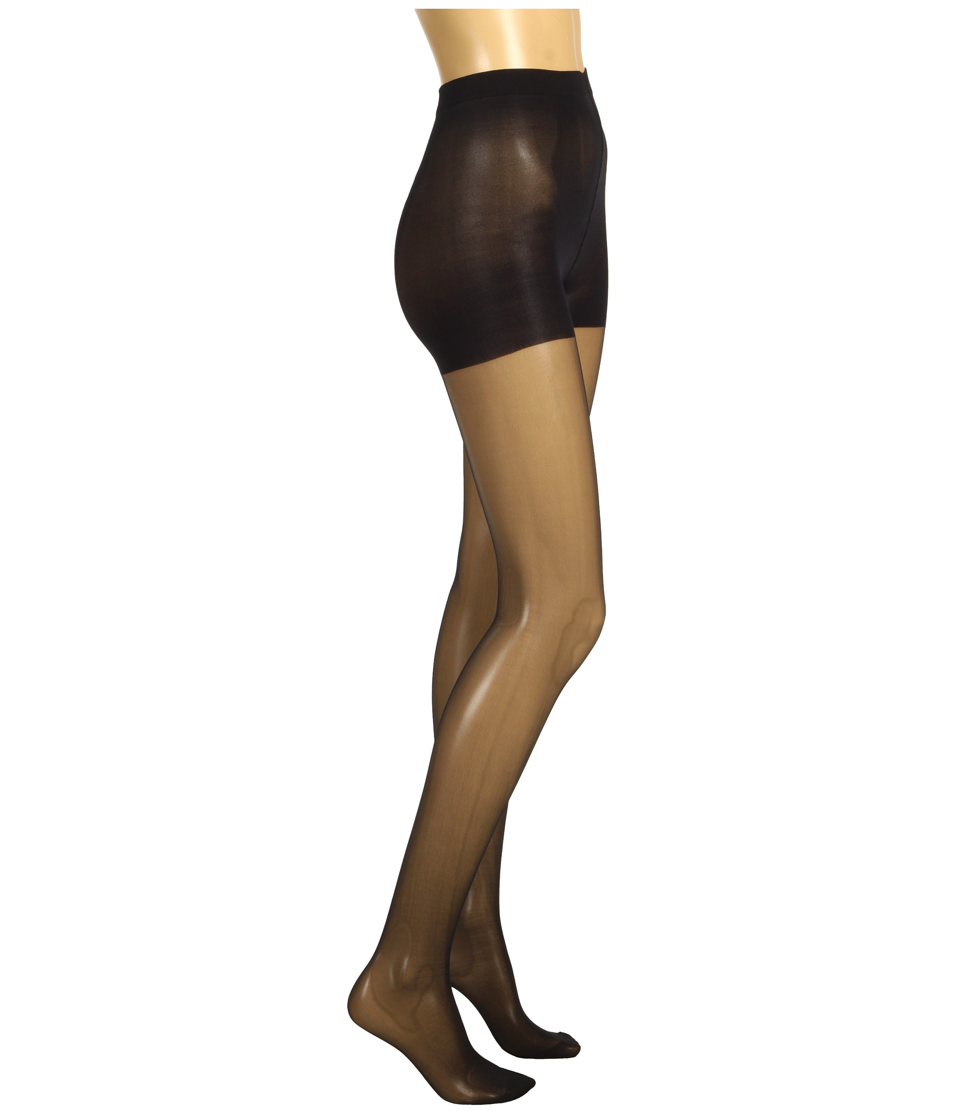 60868a1c79 Wolford Individual 10 Control Top Tights Black on PopScreen