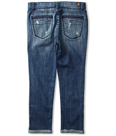 7 For All Mankind Kids - Girls' Skinny Crop & Roll in Sardina Light Heritage (Big Kids)