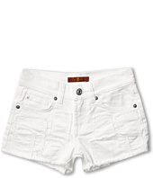 7 For All Mankind Kids - Girls' Short in Clean White (Big Kids)