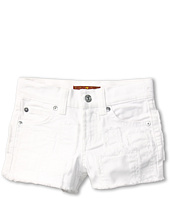 7 For All Mankind Kids - Girls' Short in Clean White (Little Kids)