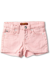 7 For All Mankind Kids - Girls' Short in Belladonna w/ Glitter (Toddler)