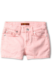 7 For All Mankind Kids - Girls' Short in Belladonna w/ Glitter (Little Kids)