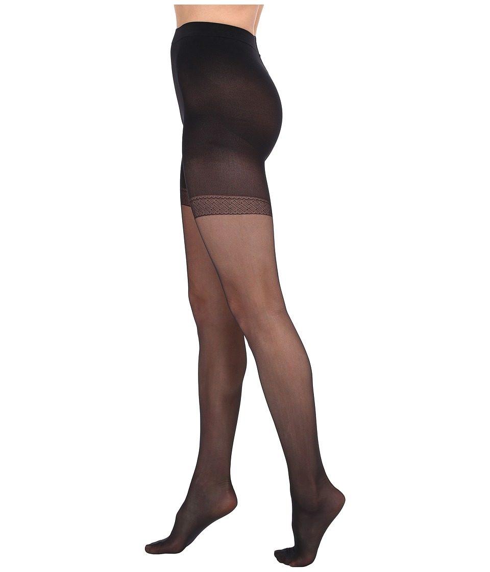 Wolford Synergy 20 Push Up Panty Tights Black Control Top Hose