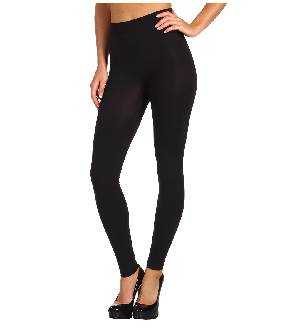 Wolford - Velvet 100 Leg Support Leggings (Black) Womens Clothing