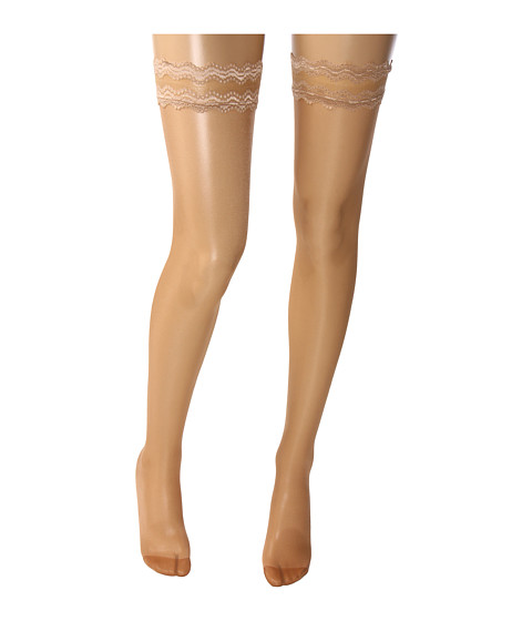 Wolford Day & Night 10 Stay-Up Thigh Highs