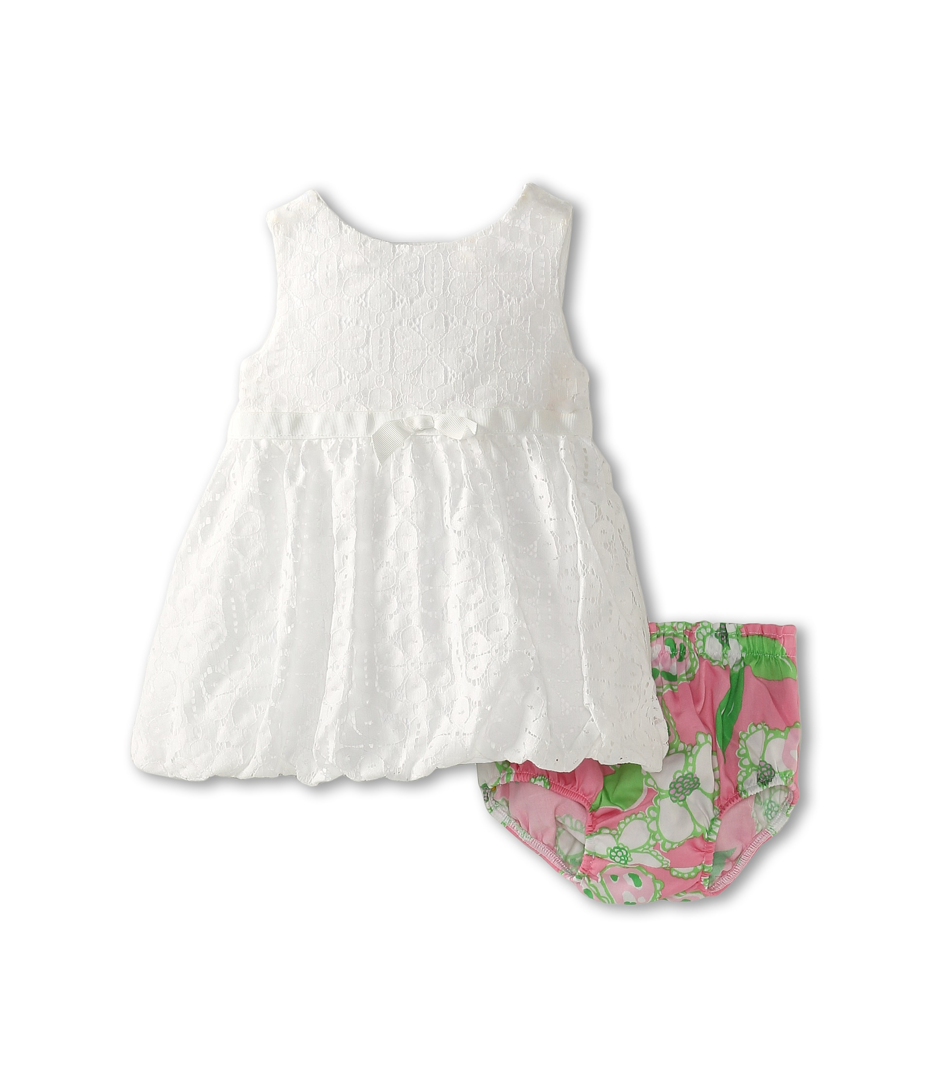 Lilly Pulitzer Kids Britta Baby Bubble Dress Infant Resort