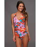 Spanx Swimwear - Belted Beauty Halter One Piece