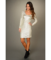 BCBGeneration - Metallic Low Back Dress