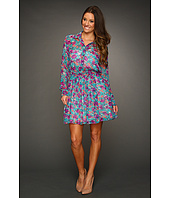BCBGeneration - Pleated Floral Shirtdress