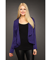 BCBGeneration - Flounced Open Back Blazer