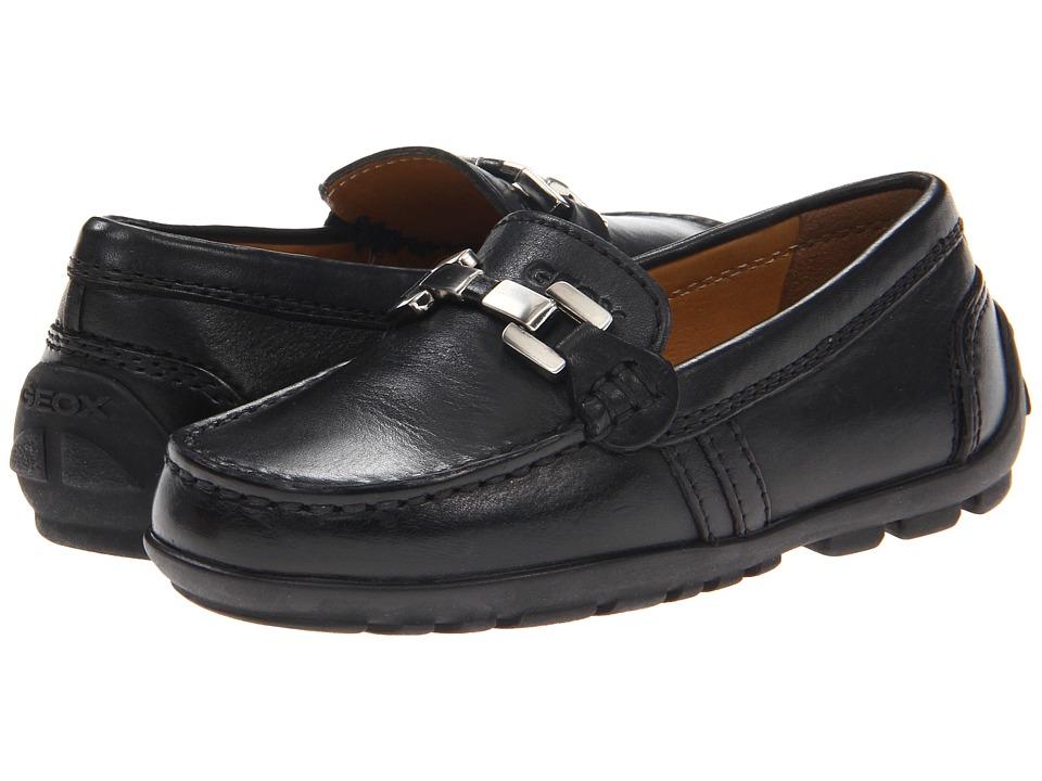 Geox Kids - Jr Fast 8 (Toddler/Little Kid) (Black) Boys Shoes