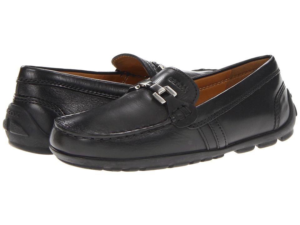 Geox Kids - Jr Fast 8 (Little Kid) (Black) Boys Shoes