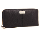 Cole Haan - Village Travel Zip Wallet (Black 2) - Bags and Luggage