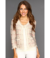 NIC+ZOE - Peek-A-Boo Tweedy Knit Jacket