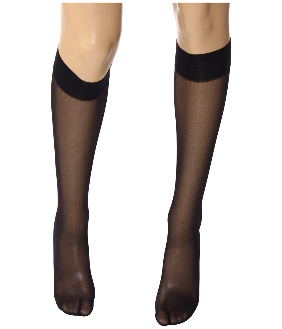 Wolford Satin Touch 20 Knee Highs Admiral Womens Knee High Socks Shoes