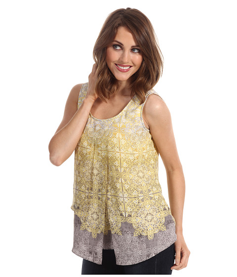 Nic+Zoe - Fresh Filigree Top (Multi) - Apparel