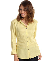 NIC+ZOE - Fresh Side Ruched Shirt Jacket