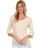 NIC+ZOE - Sand + Sea Easy V-Neck Top