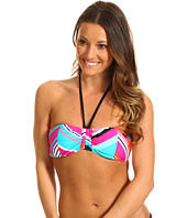 Roxy - Wave Peak Drawstring Bandeau Top