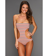 Roxy - Sun Rebel Strapless Monokini w/ Shirring