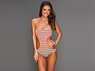 Roxy by Sun Rebel Strapless Monokini w/ Shirring