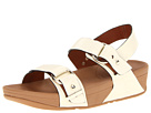 FitFlop - Via Bar Sandal (Urban White) Sandal