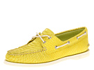 Sperry Top-Sider - A/O 2 Eye (Yellow Python Print)