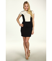 Kensie - Color Block Peplum Dress