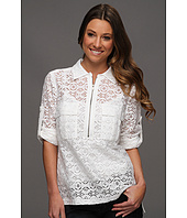 BCBGMAXAZRIA - Noemie Blouse with Lace
