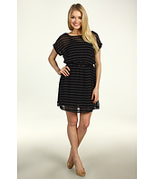 Kensie - Striped Dress w/ Belt