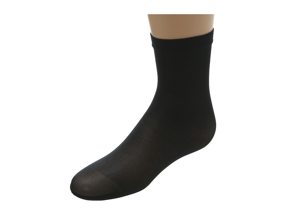 Wolford Satin Touch 20 Socks Black Womens Quarter Length Socks Shoes