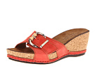 La Plume - Calyn (Red) - Footwear