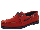 Sperry Top-Sider - A/O 2-Eye Canvas Pop (Red/Navy) - Footwear