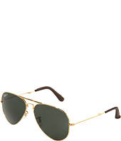 Ray-Ban - 18K Gold Folding Aviator 0RB3479 58