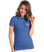 Lacoste - L!VE S/S Stretch Pique Colored Winking Crocodelle Polo