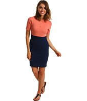 Lacoste - L!VE Half Sleeve Colorblock Pique Polo Dress