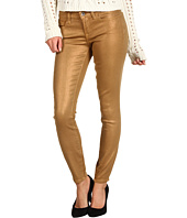 Lucky Brand - Charlie Skinny Jean in Coated Sparkle Gold