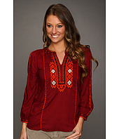 Lucky Brand - Eastern Dream Embroidered Top