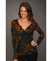 Lucky Brand - Exploded Damask Top