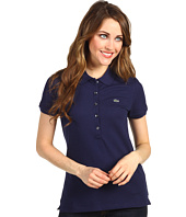 Lacoste - S/S 5 Button Stretch Pique Polo