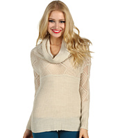 Lucky Brand - Paula Cowl Neck Pointelle Sweater