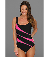 Miraclesuit - Stars in Stripes Helix One-Piece swimsuit