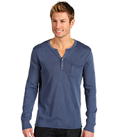 Lucky Brand - Fine Cotton Henley Sweater