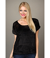 Lucky Brand - Gypset Velvet Burnout Top