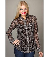 Lucky Brand - Joan Animal Print Blouse