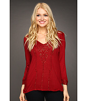 Lucky Brand - Flowy Beaded Top