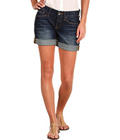 Lucky Brand - Abbey Double Roll Shorts in Dark Helms
